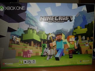 Xbox One 500Gb pack Minecraft