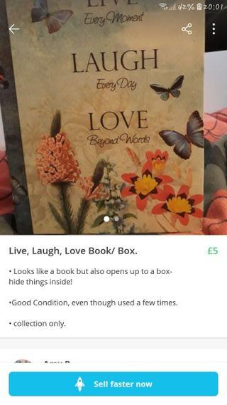 Live/Love Book/Box