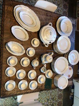 Vaixella porcelana alemana solingen/ vajilla
