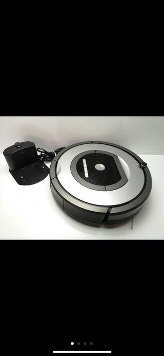 Aspiradora robot roomba seminueva poco uso