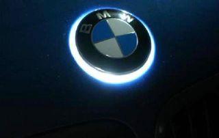 Emblema led bmw capó/ maletero