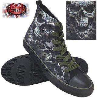 zapatillas calavera