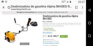 Pack Desbrozadora Alpina y complementos
