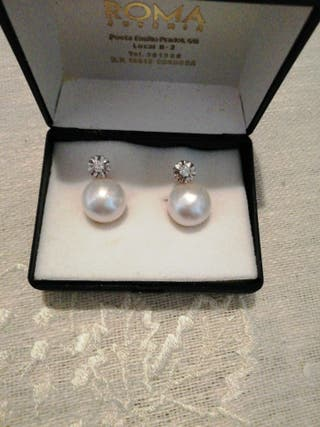 8a82dc771329 Pendientes perlas de segunda mano en Córdoba en WALLAPOP