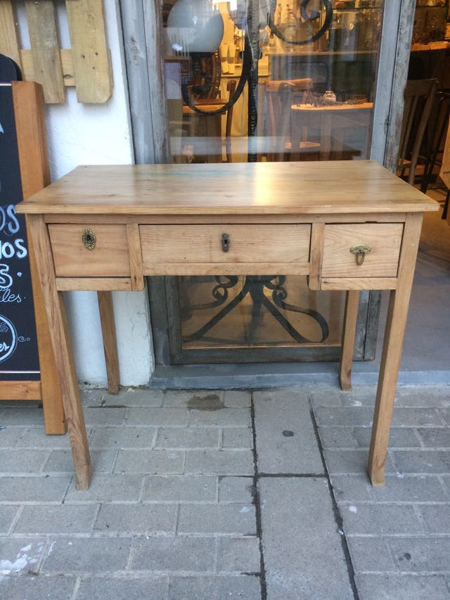 Mesa cocina escritorio antigua restaurada de segunda mano ...