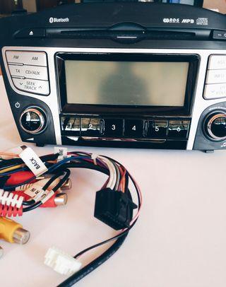 Reproductor Cd-Mp3 Bluetooth Hyundai ix35