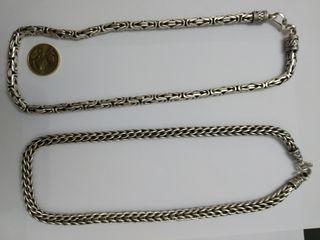 c9c940ad2b63 Collar de plata de segunda mano en Ponferrada en WALLAPOP