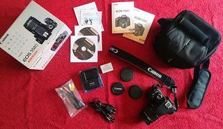 Cámara digital Reflex Canon EOS 550D