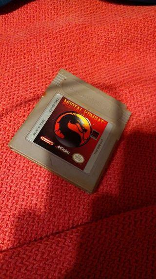 Videojuego Gameboy Mortal Kombat 1