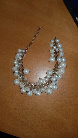 1396ae9894ac Collar de perlas de segunda mano en O Birloque en WALLAPOP