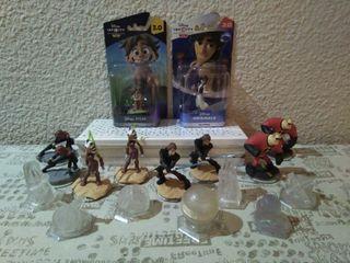 Lote figuras Disney Infinity