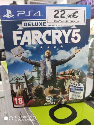 Farcry 5 deluxe edicion Ps4
