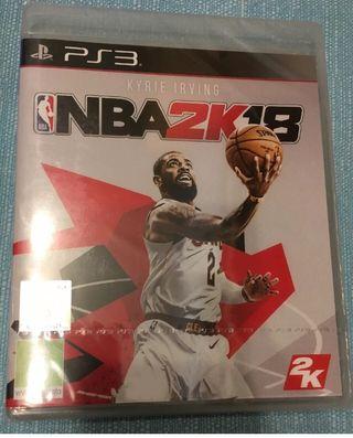 NBA 2K18 PS3 PLAYSTATION 3 NUEVO PRECINTADO