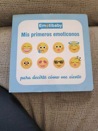 """libro """"mis primeros emoticonos"""""""
