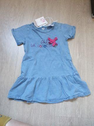 Vestido verano talla 6-12 meses sin estrenar