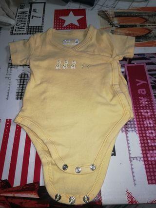 3 bodys bebé 3-6 meses