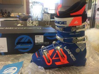 Botas de esquí junior infantil 22 cm (talla 34-35)