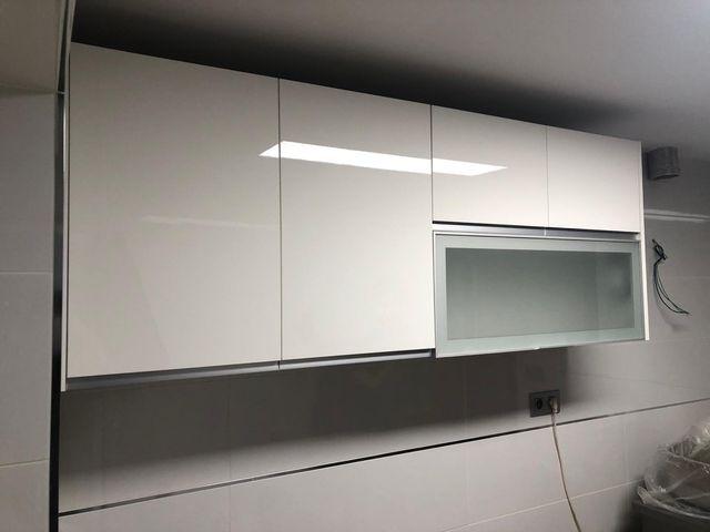 Muebles altos cocina de segunda mano por 150 € en Zaragoza en WALLAPOP
