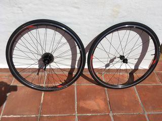 Ruedas bicicleta carretera giant
