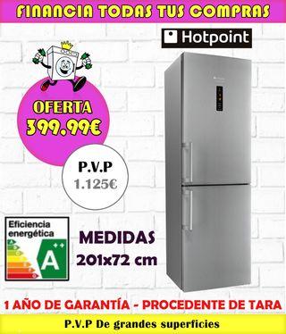 FRIGORÍFICO HOTPOINT A++ 201x72CM