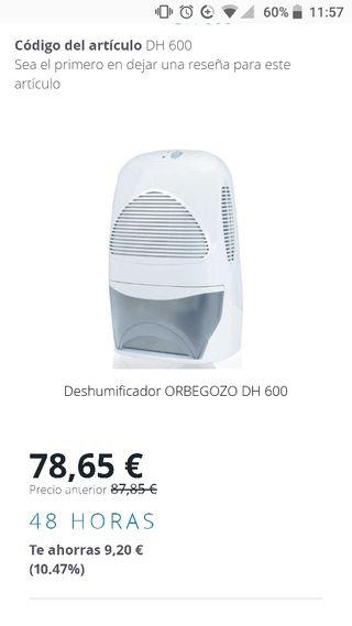 Deshumificador orbegozo dh600