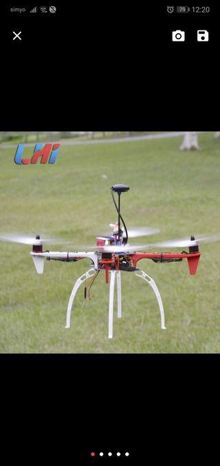 Se montan drones de fotografia f450
