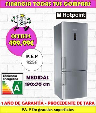 FRIGORÍFICO HOTPOINT A++ 190x70CM