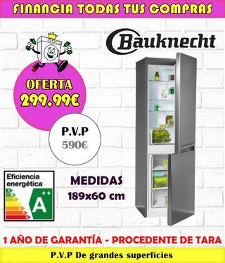 FRIGORÍFICO BAUKNECHT A++ 189x60CM