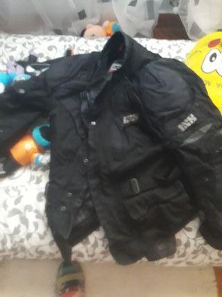 chaqueta moto refuerzos