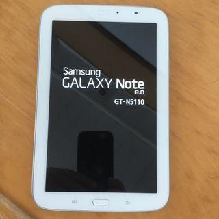 "Samsung GT-N5110 tablet GALAXY NOTE 8"""