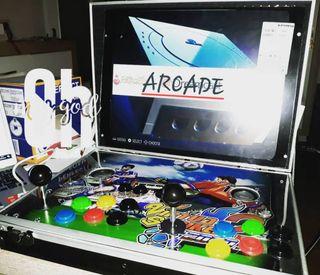 maquina maletin arcade portatil