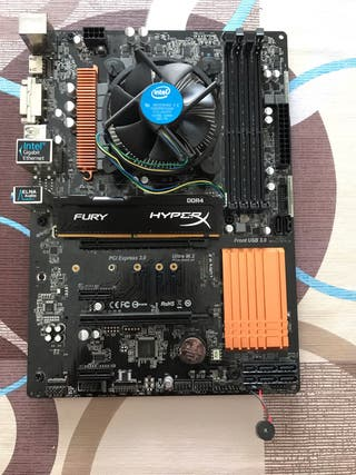 Intel i5 6500 + Placa Base ASRock + 8 GB Ram DDR4