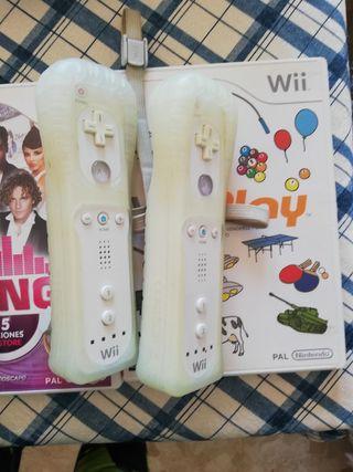 Consola Nintendo WII blanca + extras