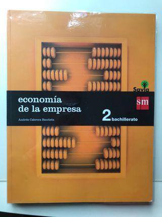 Libro Economía 2 Bachillerato