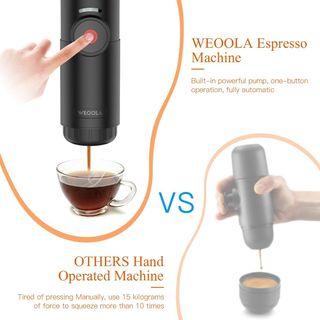 Cafetera Nespresso Portátil eléctrica automática