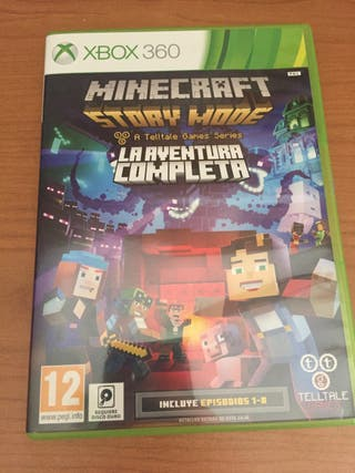 Minecraft story mode (Xbox360)