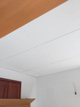 techo pladur desmontables