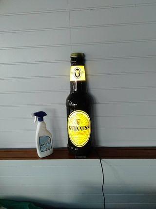 botella luz