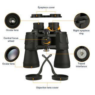 Binoculares 10 x 50 - Prismáticos (nuevo)