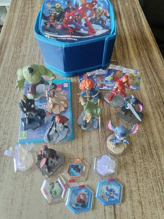 Disney Infinity figuras i mundos i disc