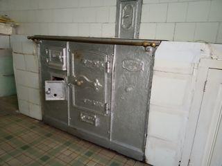 cocina de leña antigua
