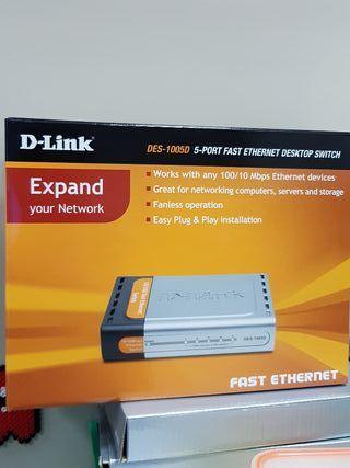 Switch Dlink 5 puertos