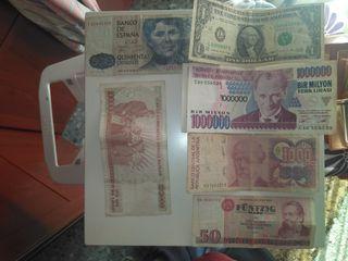 billetes de colección originales
