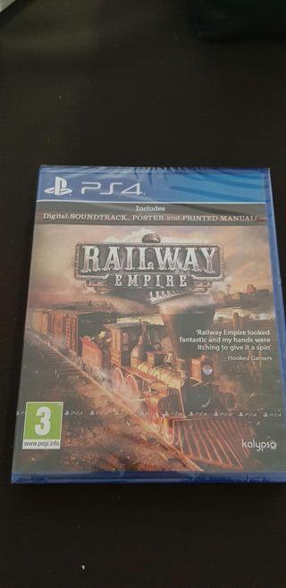Railway empire Ps4 con precinto
