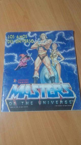 Album cromos Masters Universo Completo !!