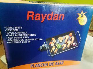 plancha eléctrica RAYDAN!