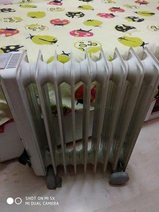 Calefactor eléctrico Ufesa.