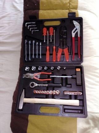 caja de herramientas nuevo a estrenar