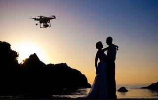 Fotografo video boda drone