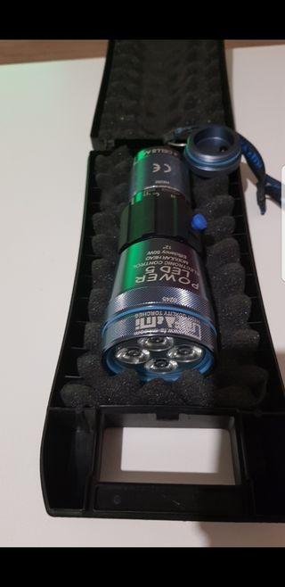 linterna LED de aluminio